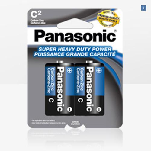 PANASONIC SIZE C 2 PACK BATTERY