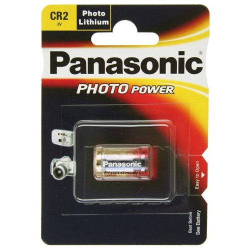 Panasonic CR2, CR-2, CR2EP Photo Power Lithium battery, 850mAh