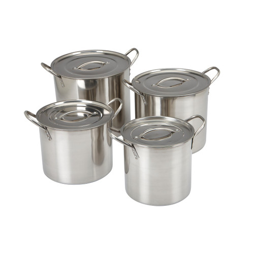 4 SETS ALUMINUM STOCK POT