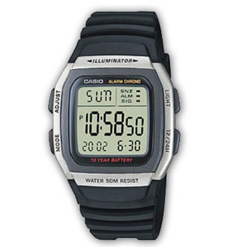 Casio Digital Watch W96H W96H-1A W-96H-1A