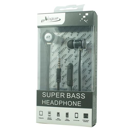 001 SUPER BASS HEADPHONE (BLACK / WHITE)