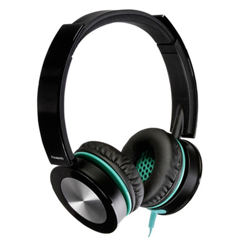 Panasonic RP-HXS400-W Sound Rush Plus On-Ear Headphones  ( BLACK )