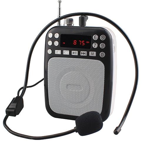 SC1397  Bluetooth® Portable PA System WITH FM Radio  ( BLACK )