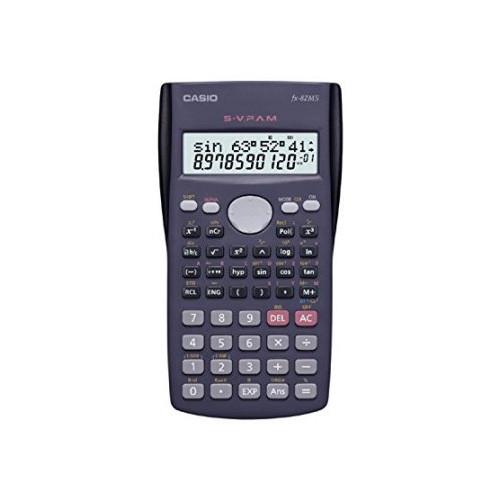 Casio Fx-82ms Plus Bk Display Scientific Calculations Calculator with 240 Functions