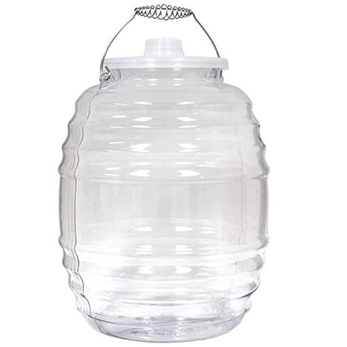 Aguas Frescas 5 Gallon, Vitrolero Plastic Water Container , Vitrolero, 5 gallon