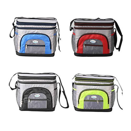 Cooler Bag 12 Can w/ Hard Plastic Ice Bucket (CB-1201)
