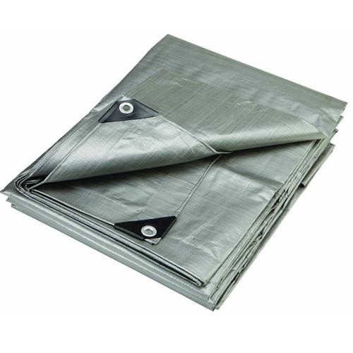12 X 20 - High-Density Woven Polyethylene Tarp