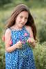 Toddler & Kids Blue floral Dress