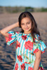 Toddler & Kids Turquoise Nina Dress