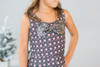 Infant Toddler & Kids Gunmetal Sveta Dress