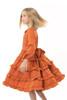Infant Toddler & Kids Orange Tatiana Dress