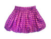 Toddler & Kids Purple Dot Bubble Skirt