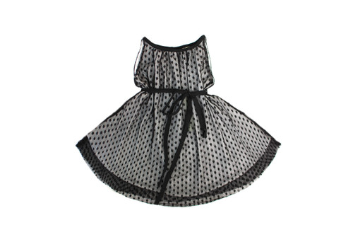 Sample Sale Black Polka Dot Dress