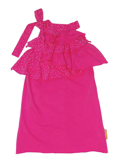 Sample Sale Bubblegum Ruffle Dress