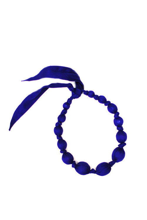 Royal Wooden Bead Necklace
