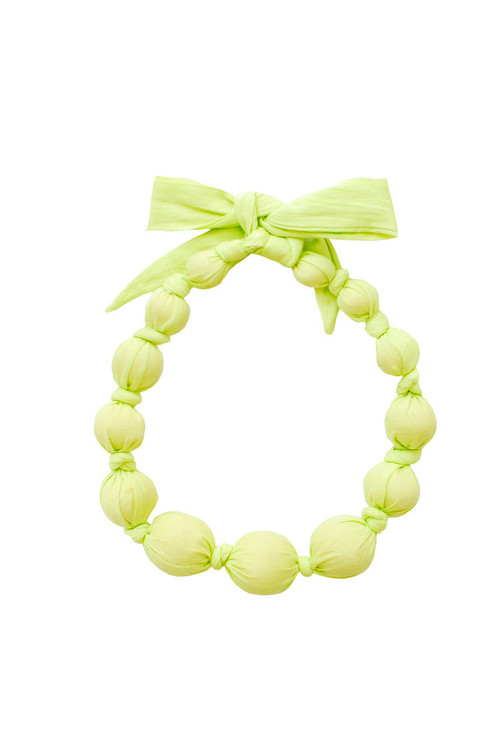 Limepop Wooden Bead Necklace