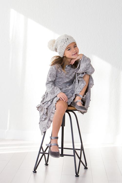 Toddler & Kids Space Dyed Tatiana Dress