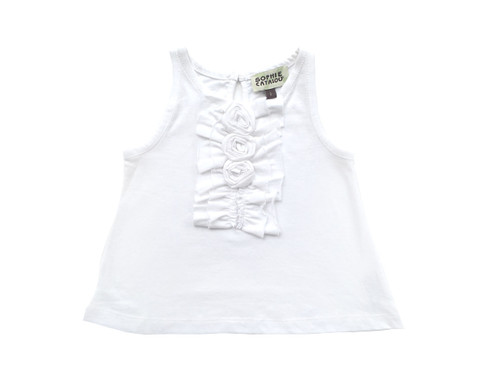 Sample Sale White Knit Bow Top