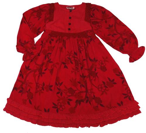 Sample Sale Sangria Dress-Size 12M