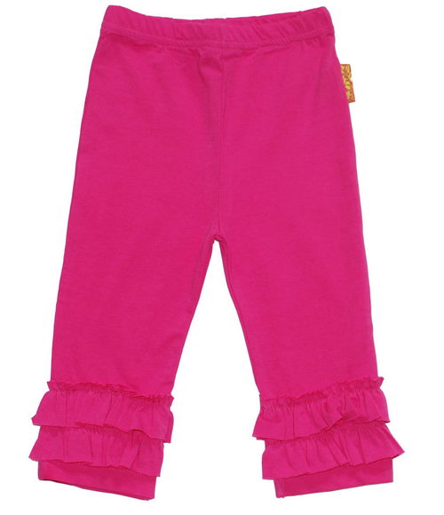 Sample Sale Bubblegum Ruffle Leggings