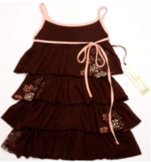 Sample Sale Chocolate knit dress