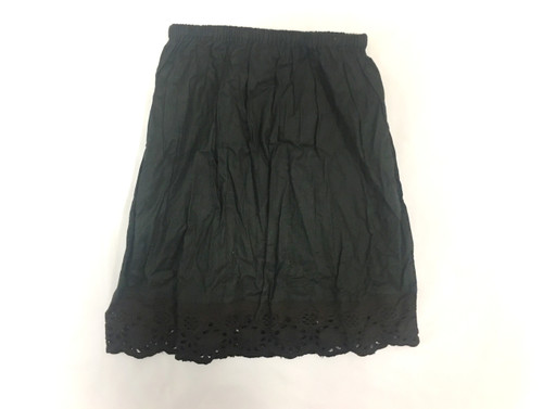Sample Sale Black Pettiskirt