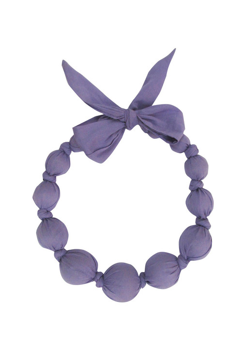 Dark Lavender Necklace