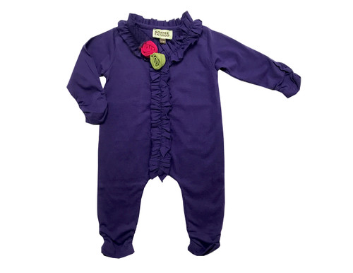 Sample Sale Violet Knit Romper