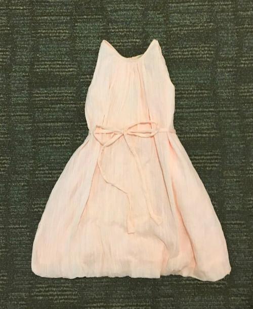 Sample Sale Blush Crinkle A-line Dress
