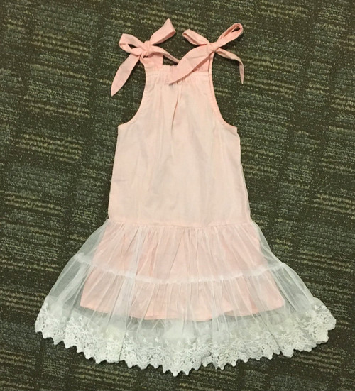 Sample Sale Blush Lace Dress