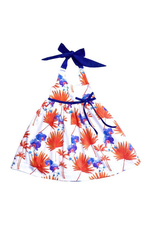 Sample Sale Palm Beach Smocked Halter Dress