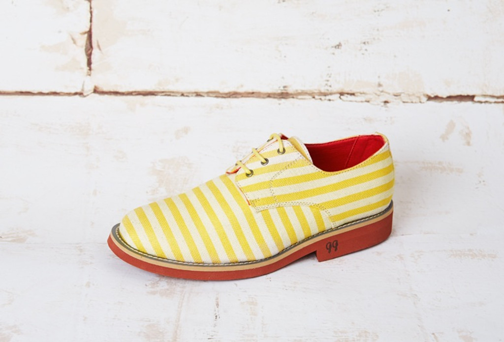 Aponi Yellow Stripes Canvas