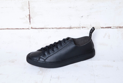 Samo Black Veg. Leather