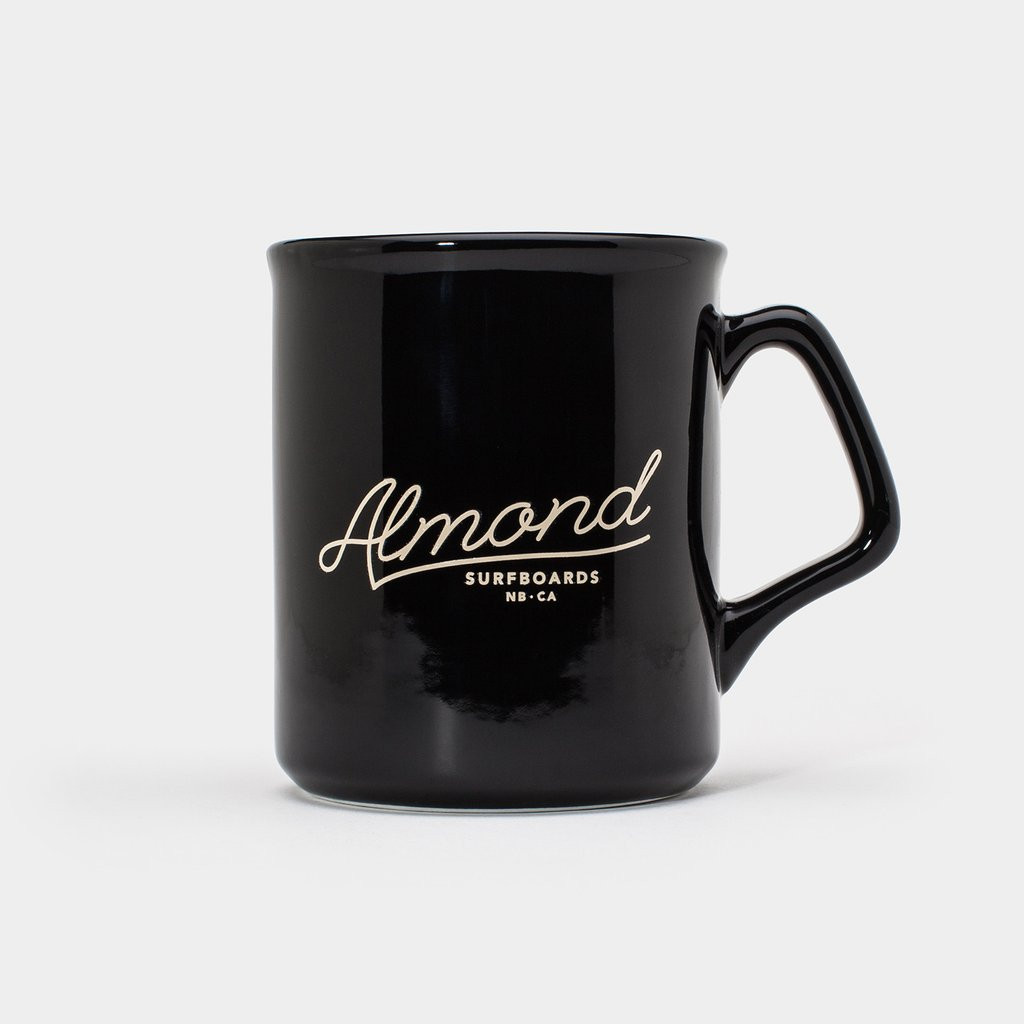 Black Almond Coffee Mug
