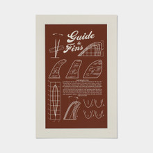 """Guide to Fins"" Poster"