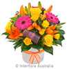 A Beautiful Hospital Colourful Arrangement selection supplied by Ipswich Florist. Select Gifts to go with your selection. Ipswich Florist situated 9 Brisbane St Ipswich.