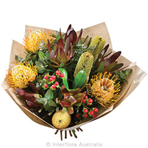 A Beautiful Summer Autumn Collection  Arrangement supplied by Ipswich  Florist.   Select Gifts to go with your selection.