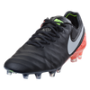 Nike Tiempo Legend VI FG - Black/White/Hyper Orange/Volt (112917)