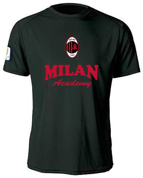 MIlan SC Training Jersey - Black/Red