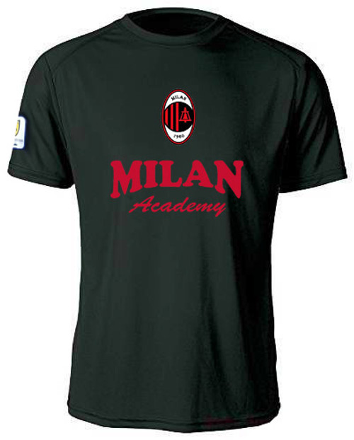 MIlan SC Training Jersey Youth - Black/Red