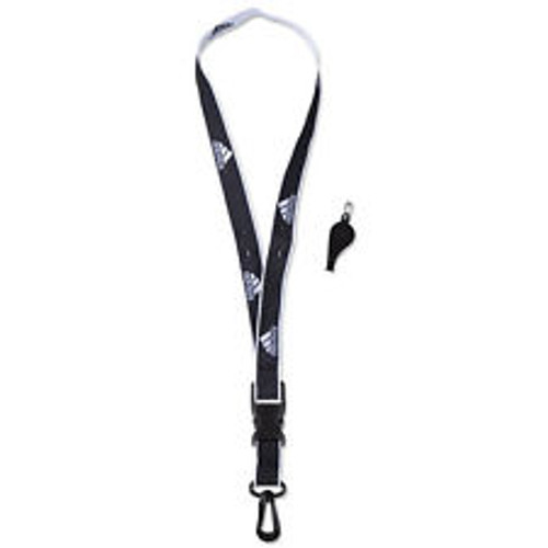 adidas Coach Lanyard and Whistle - Black/White
