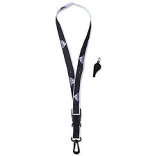 adidas Coach Lanyard and Whistle - Black/White