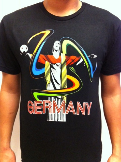 SIK Germany WC 2014 Tee - Black SD (53018)