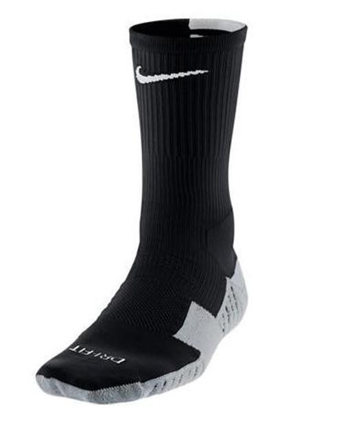 Nike Stadium Soccer Crew Sock - Black/White