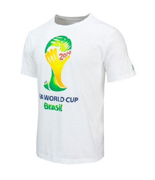 adidas Youth FIFA World Cup Tee - White SD (1617)