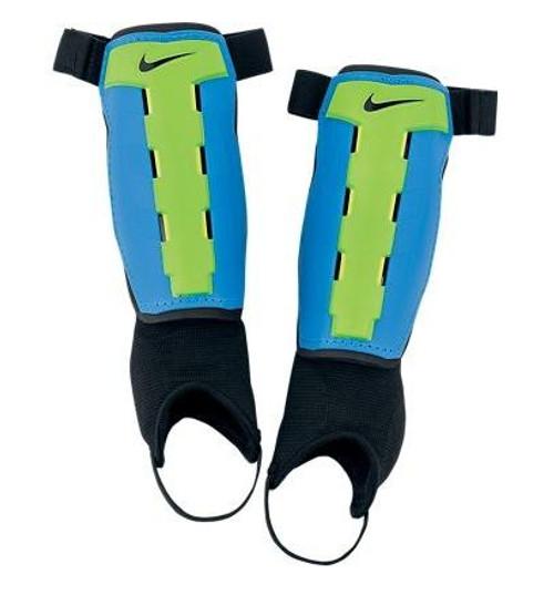 Nike Youth Charge Shin Guard - Blue/Green