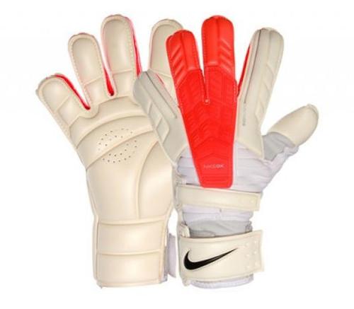 Nike GK Confidence Glove - White/Crimson (122417)