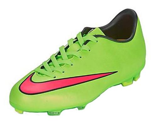 392131e7df97 Nike Jr Mercurial Victory V FG - Green Pink - ohp soccer