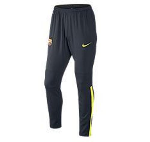 Nike FCB Squad Pant - Dark Obsidian/Volt