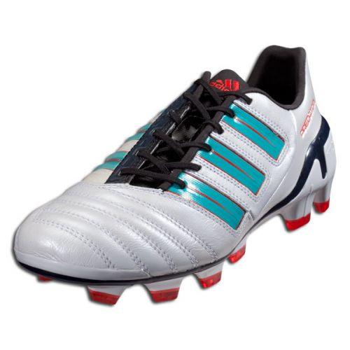 adidas Wmns AdiPower Predator TRX FG - White/Green RC (32418)